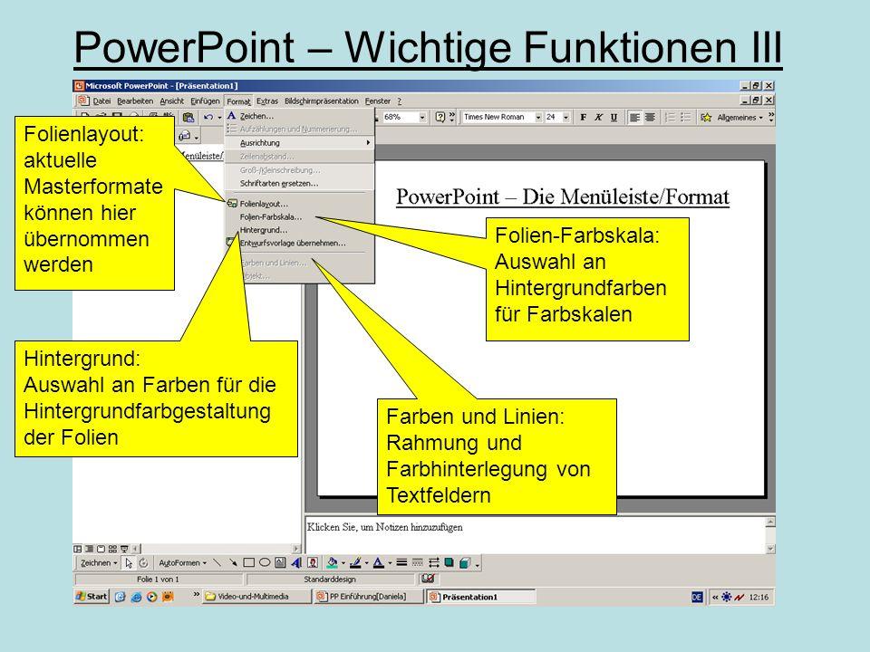 PowerPoint – Video bearbeiten II Bearbeitungsmodus