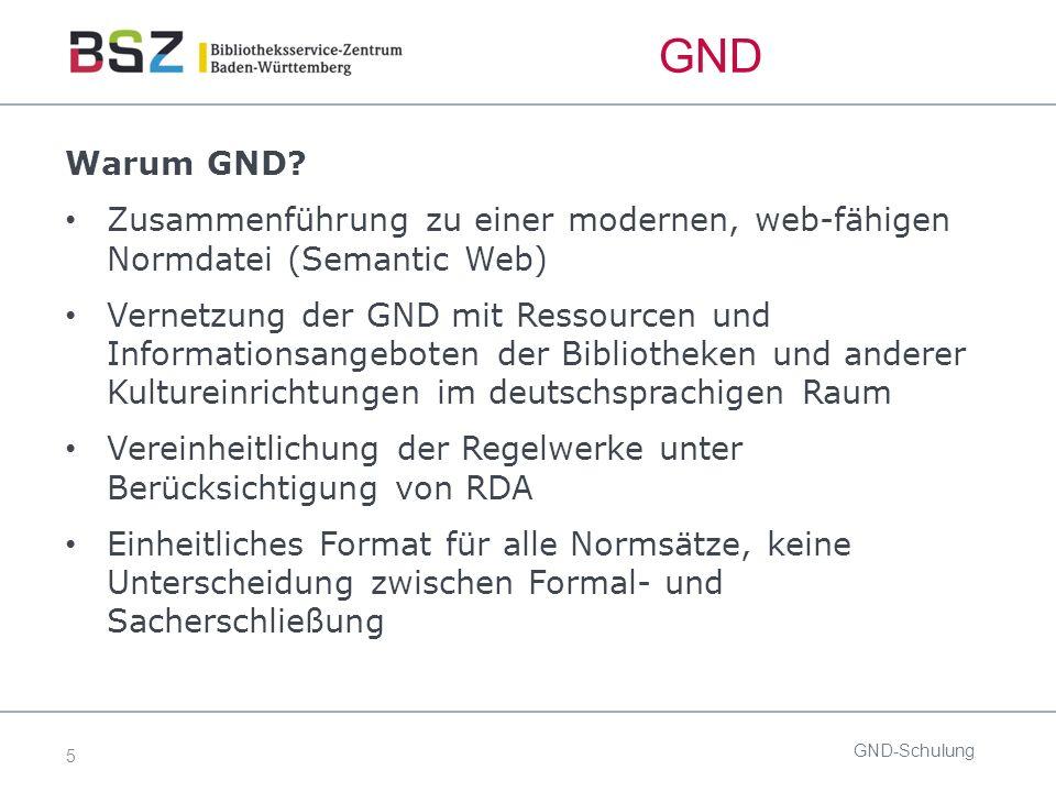 5 GND-Schulung Warum GND.