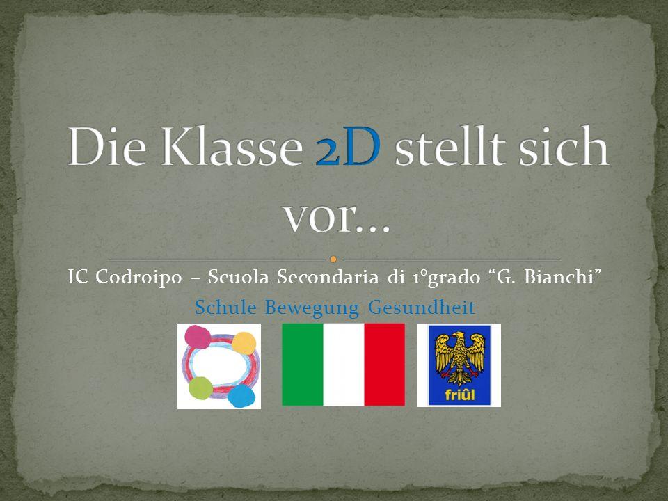 IC Codroipo – Scuola Secondaria di 1°grado G. Bianchi Schule Bewegung Gesundheit