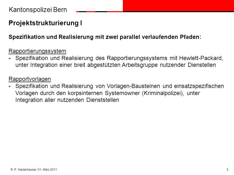 Kantonspolizei Bern R. P. Niederhauser / 31.