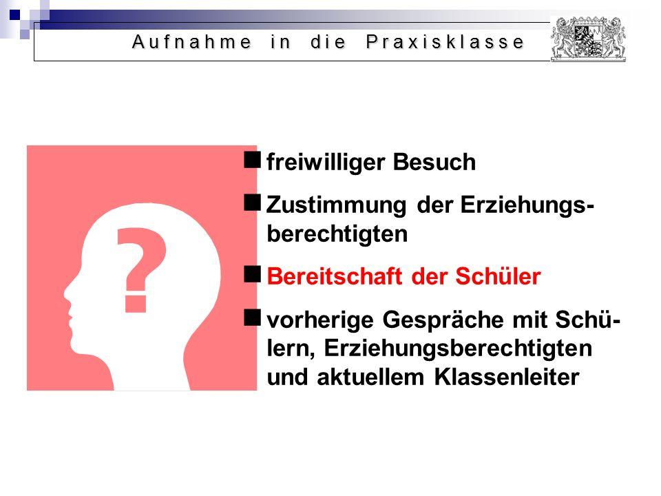 Betriebs- und Werkstattspraktika (ein- bzw.