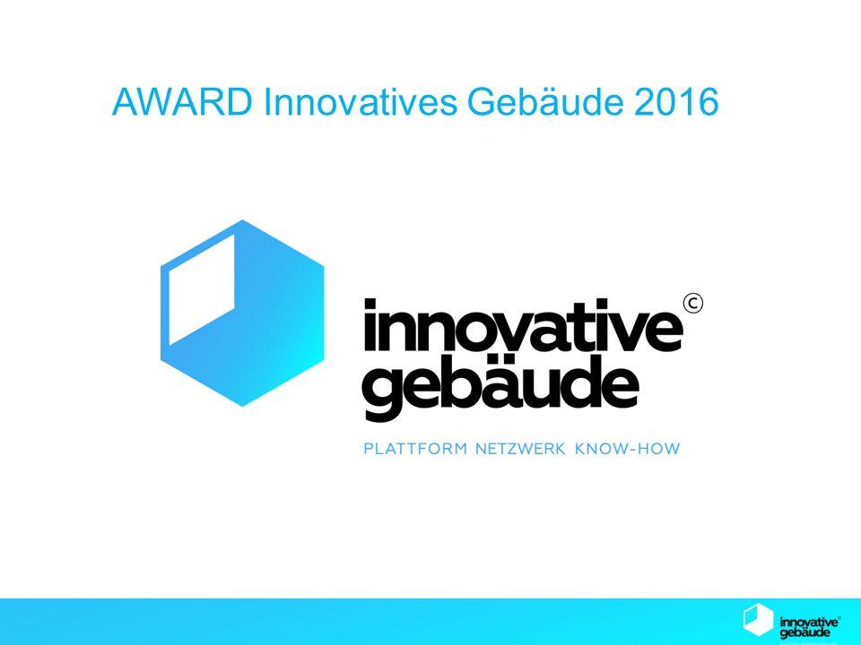SB13 Graz AWARD Innovatives Gebäude 2016