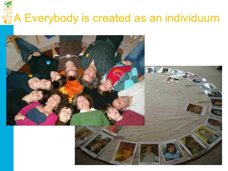 A Everybody is created as an individuum