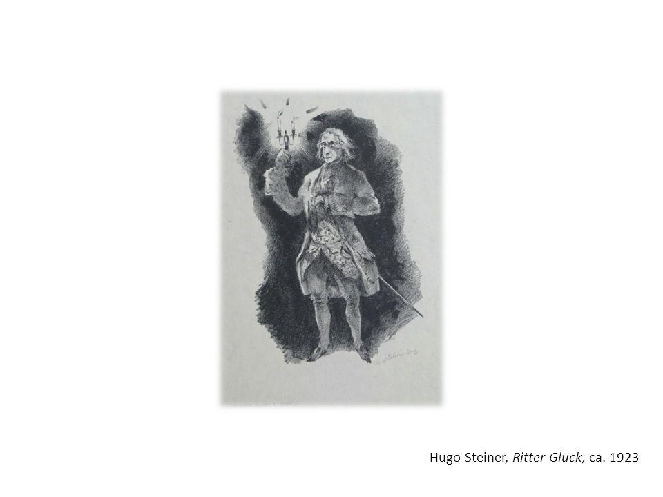 Hugo Steiner, Ritter Gluck, ca. 1923