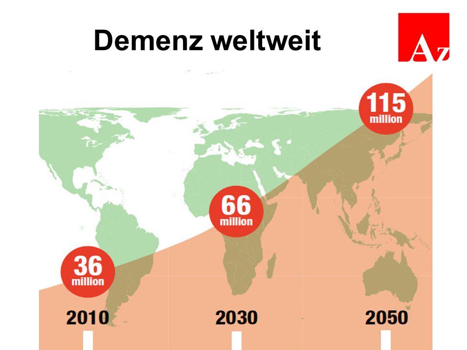 Demenz weltweit