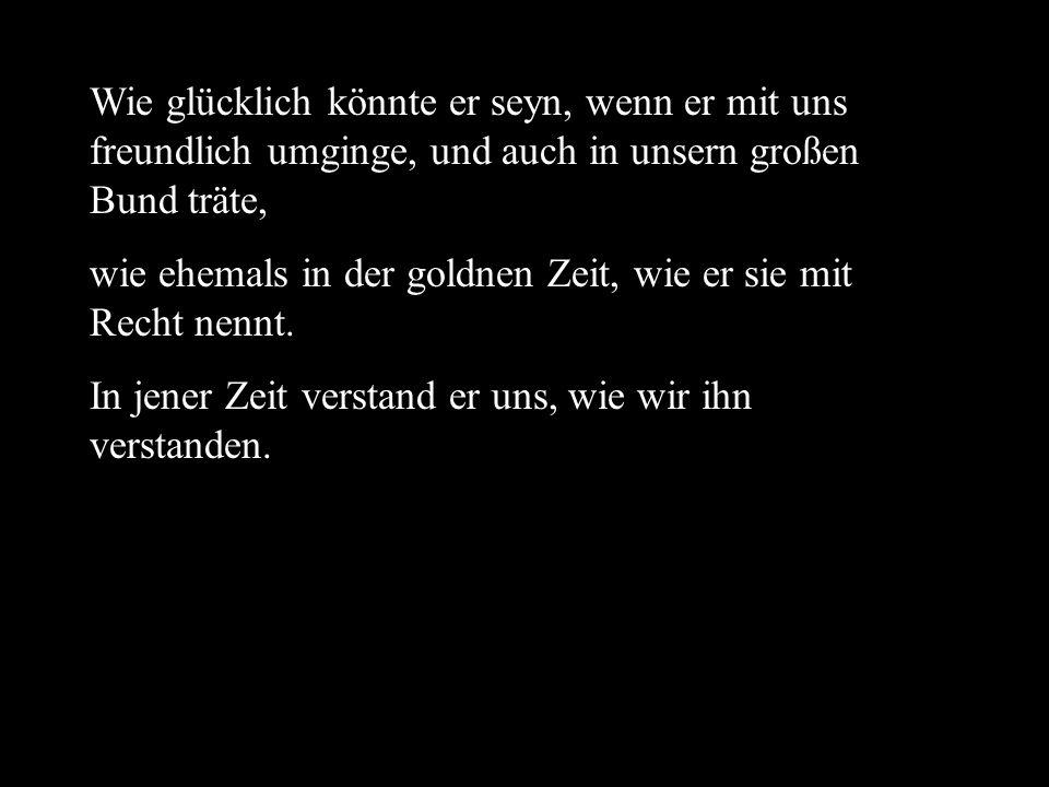 aus: Novalis Die Jünglinge zu Sais.