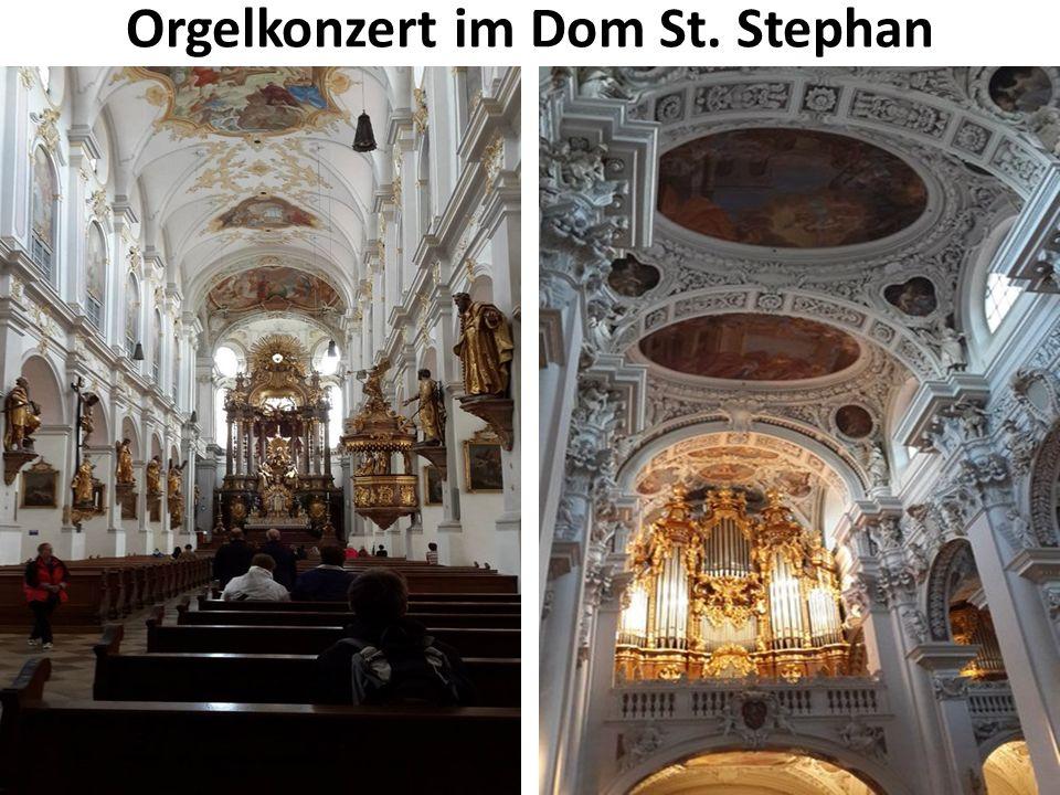 Orgelkonzert im Dom St. Stephan