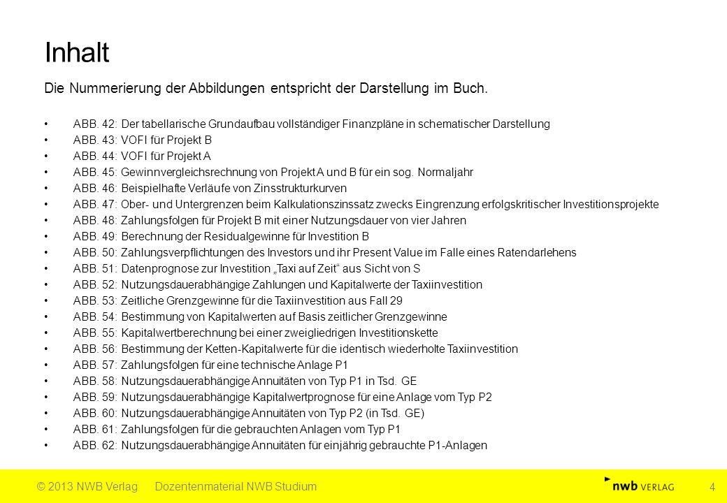 Fortsetzung Abb.91 Quelle: Kesten, Investitionsrechnung in Fällen und Lösungen, 2.