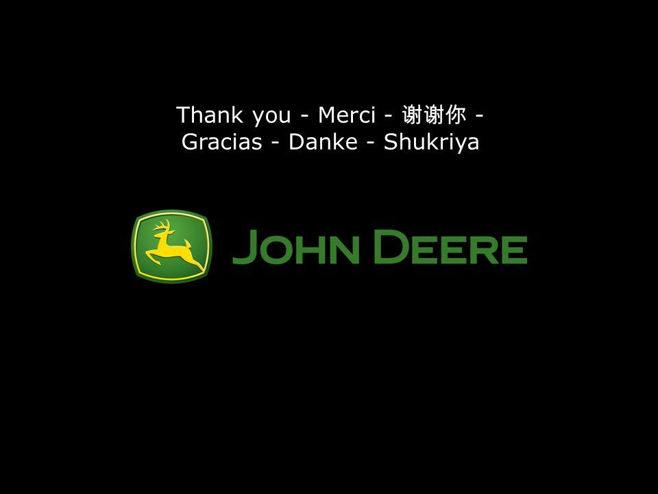 Thank you - Merci - 谢谢你 - Gracias - Danke - Shukriya