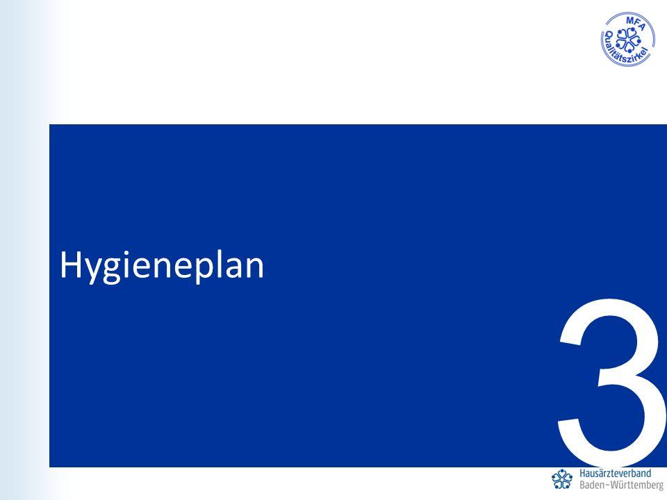 3 Hygieneplan