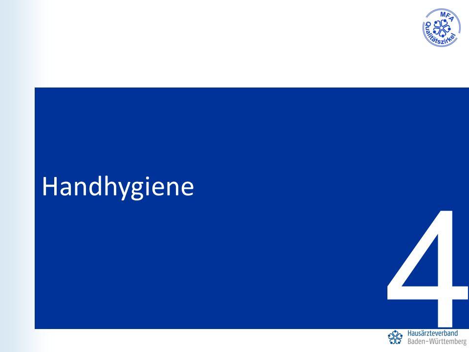4 Handhygiene