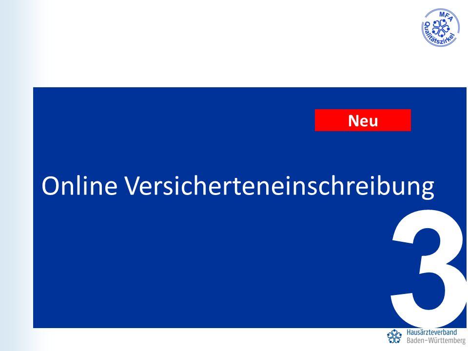 3 Online Versicherteneinschreibung Neu