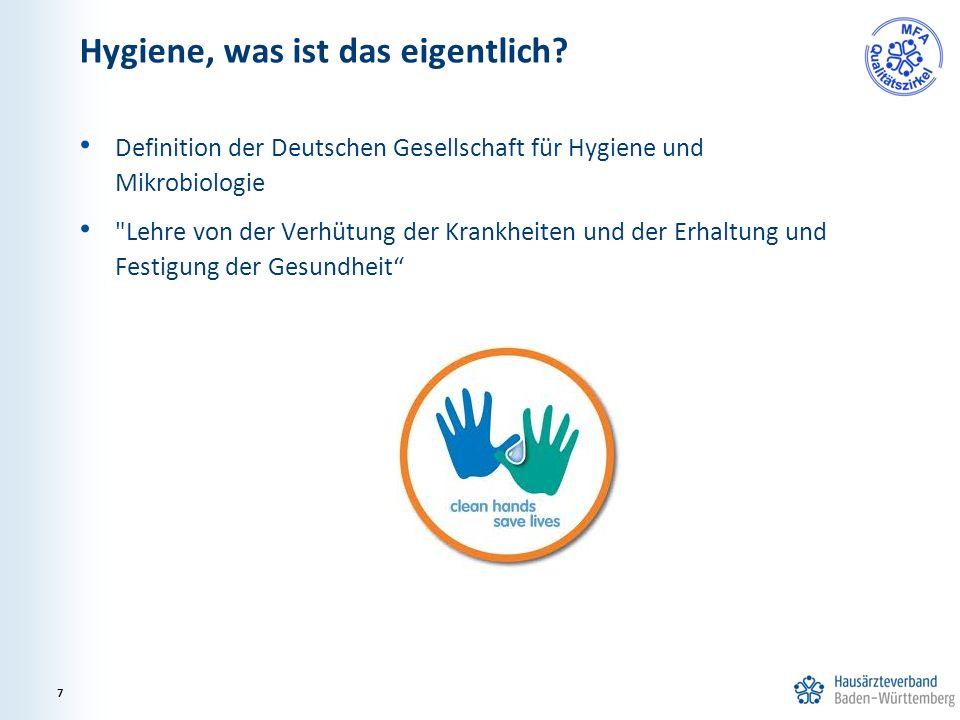 Definition der Deutschen Gesellschaft für Hygiene und Mikrobiologie