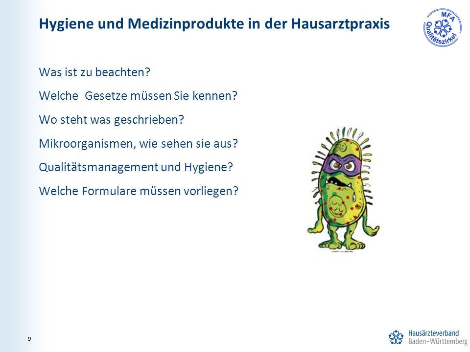 Was ist zu beachten? Welche Gesetze müssen Sie kennen? Wo steht was geschrieben? Mikroorganismen, wie sehen sie aus? Qualitätsmanagement und Hygiene?