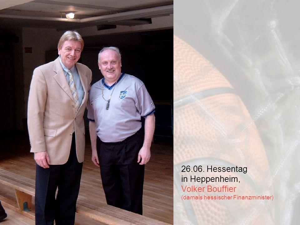 26.06. Hessentag in Heppenheim, Volker Bouffier (damals hessischer Finanzminister)