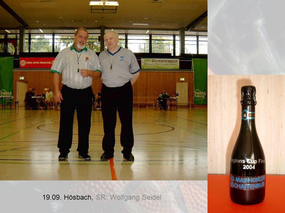 19.09. Hösbach, SR: Wolfgang Seidel