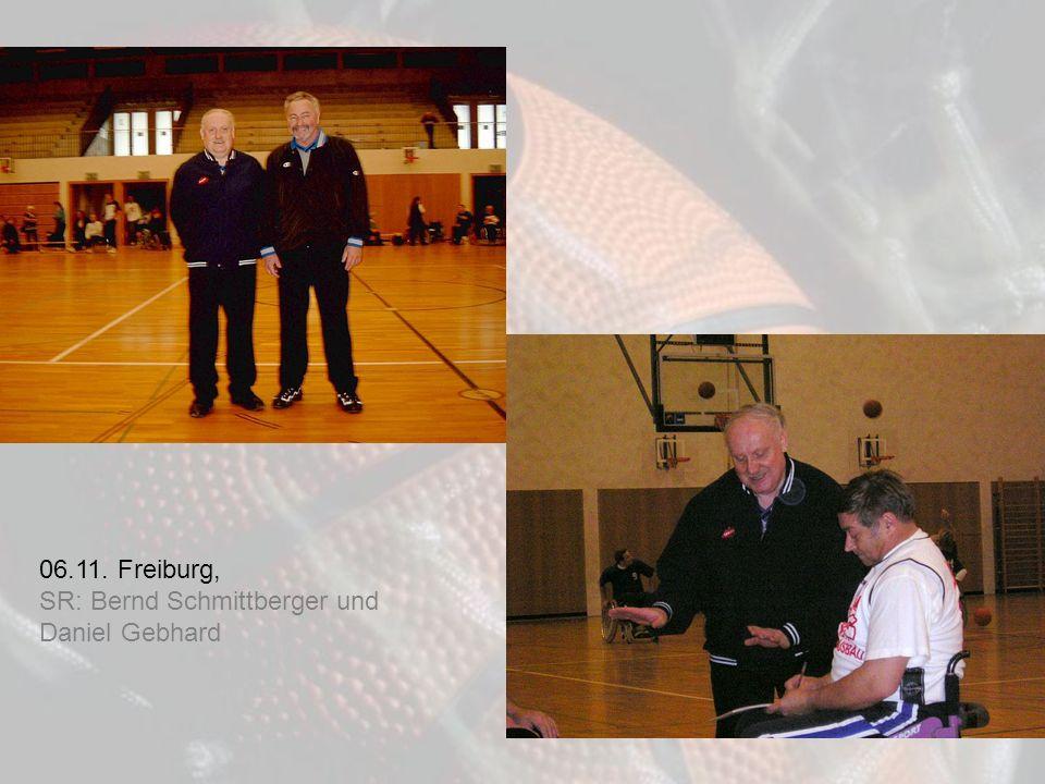 06.11. Freiburg, SR: Bernd Schmittberger und Daniel Gebhard