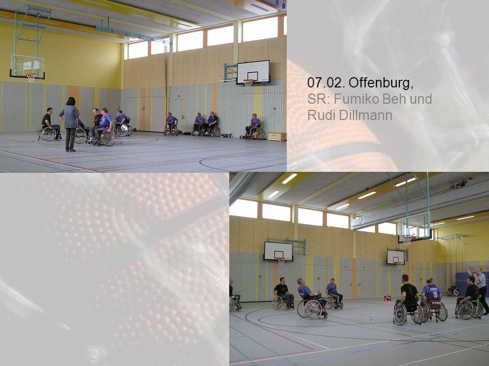 07.02. Offenburg, SR: Fumiko Beh und Rudi Dillmann
