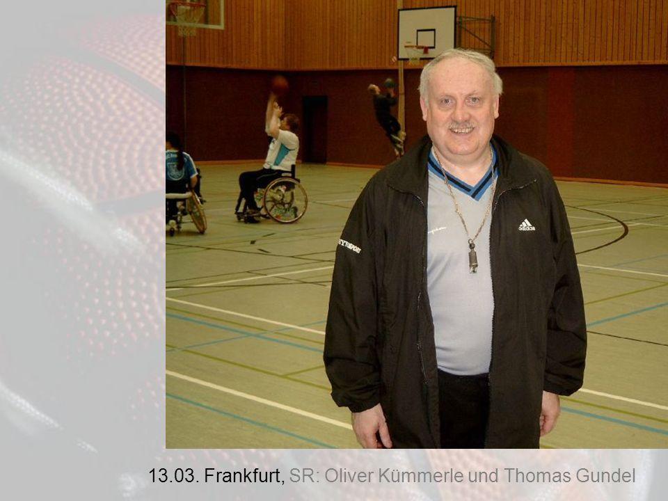 13.03. Frankfurt, SR: Oliver Kümmerle und Thomas Gundel