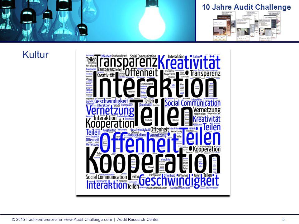 6 © 2015 Fachkonferenzreihe www.Audit-Challenge.com | Audit Research Center 10 Jahre Audit Challenge Neue Informationsvermittlung?