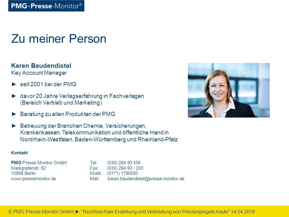 Tel:(030) 284 93 - Fax:(030) 284 93 - 200 Mobil: Mail: PMG Presse-Monitor GmbH Markgrafenstr.