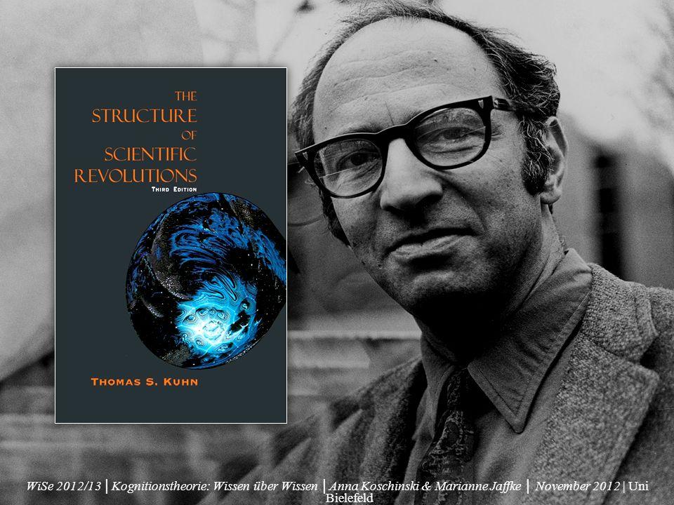 Physiker, Historiker, Wissenschaftsphilosoph 1922-1996 Harvard, Berkeley, Princeton, MIT bekannt für seine Feststellugen über den Fortschritt wissenschaftlicher Erkenntnis und insbesondere für das Beschreiben sog.