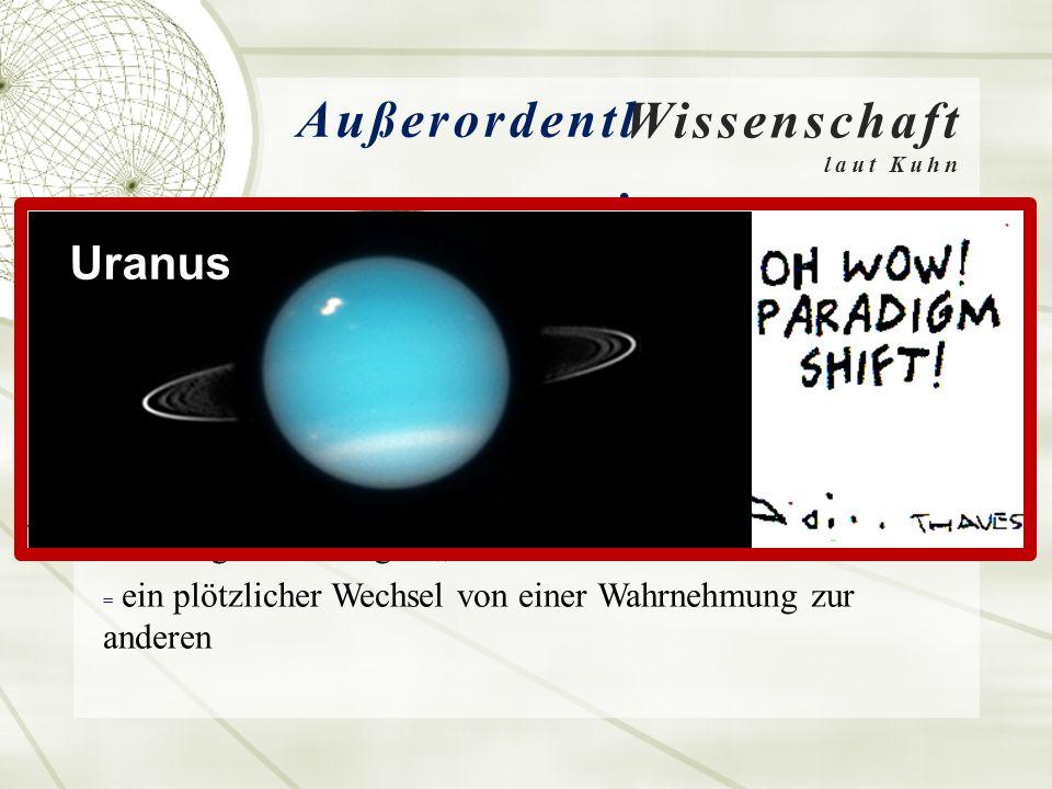 Wissenschaft laut Kuhn Außerordentl.