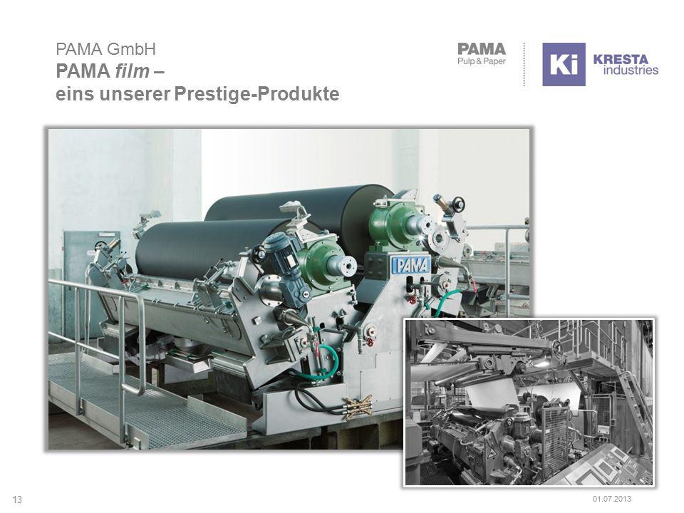 PAMA GmbH PAMA film – eins unserer Prestige-Produkte 13 01.07.2013