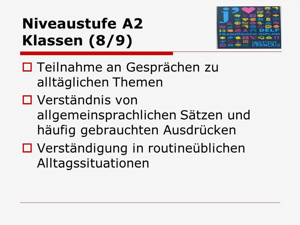 "Übungsbücher zur Vorbereitung  Klett: Delf scolaire ""Prêts pour l´Europe (A1-B2)  Langenscheidt-Hachette: DELF scolaire & junior (A1-B2)  Cornelsen: Réussir le DELF (A1-B2)  Stark: Sprachenzertifikat (nur DELF B1)"