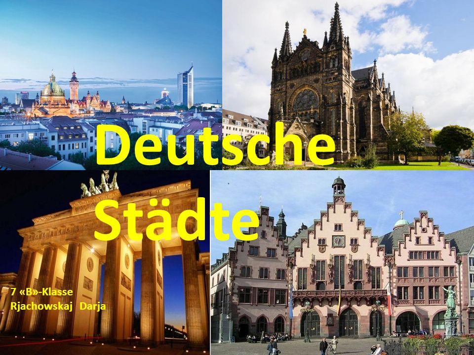 Deutsche Städte 7 «B»-Klasse Rjachowskaj Darja