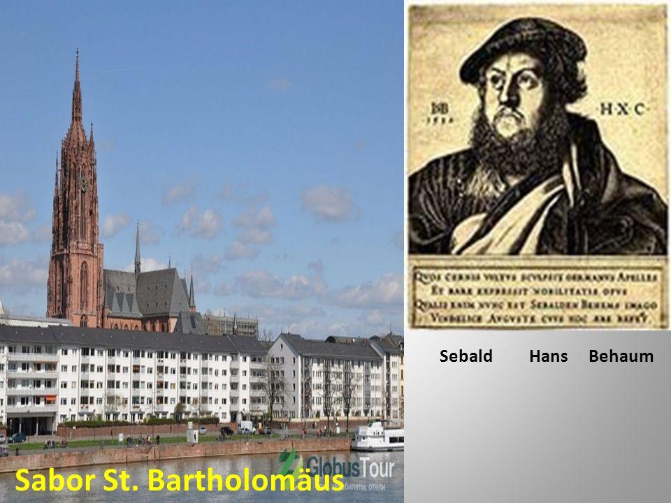Sabor St. Bartholomäus Sebald Hans Behaum