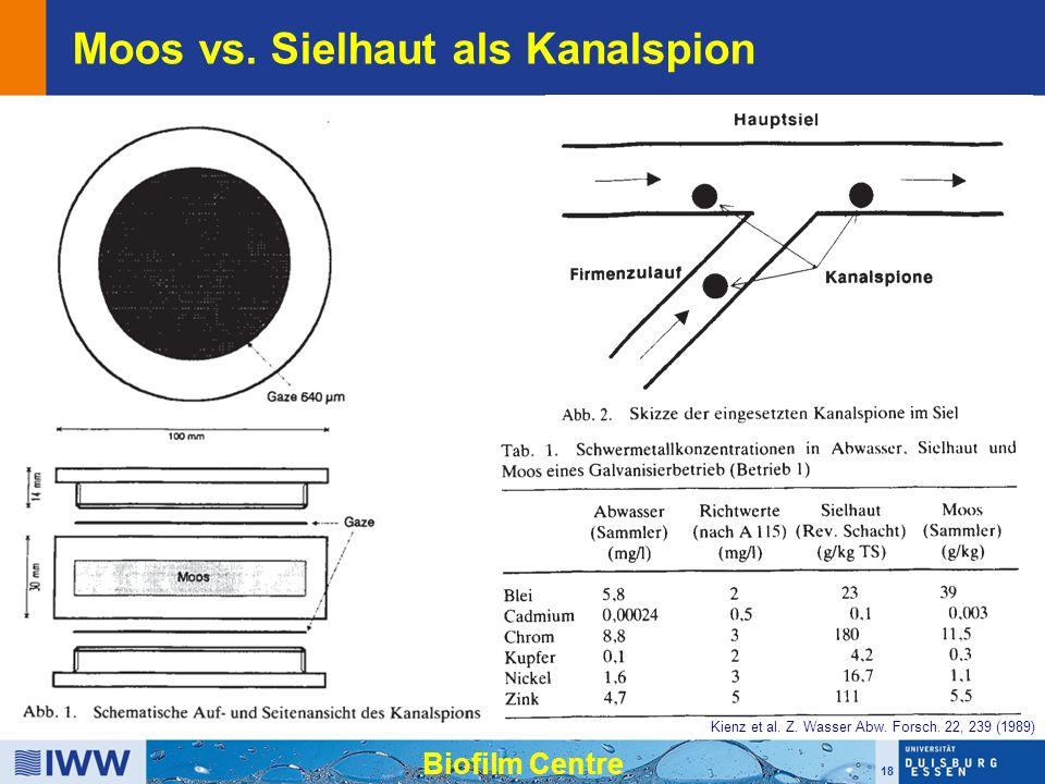 18 Biofilm Centre Kienz et al. Z. Wasser Abw. Forsch.