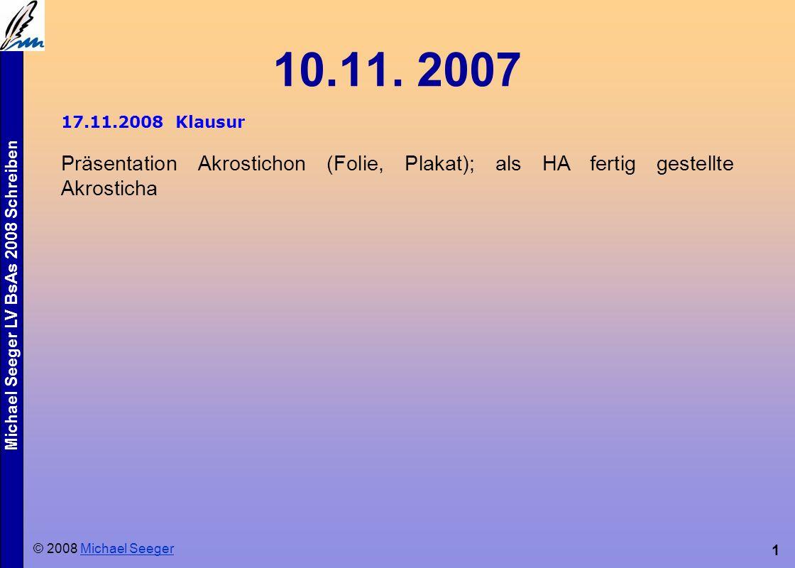 Michael Seeger LV BsAs 2008 Schreiben 1 10.11.