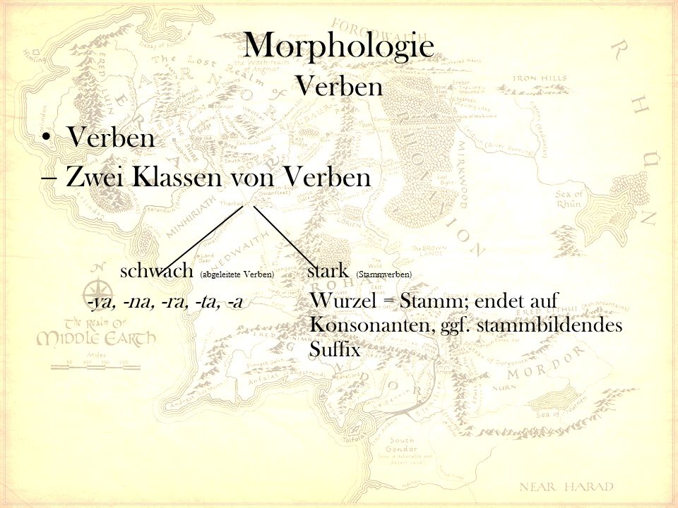 Morphologie Verben  Tempussystem - Aorist - Präsens - Präteritum - Perfekt - Futur