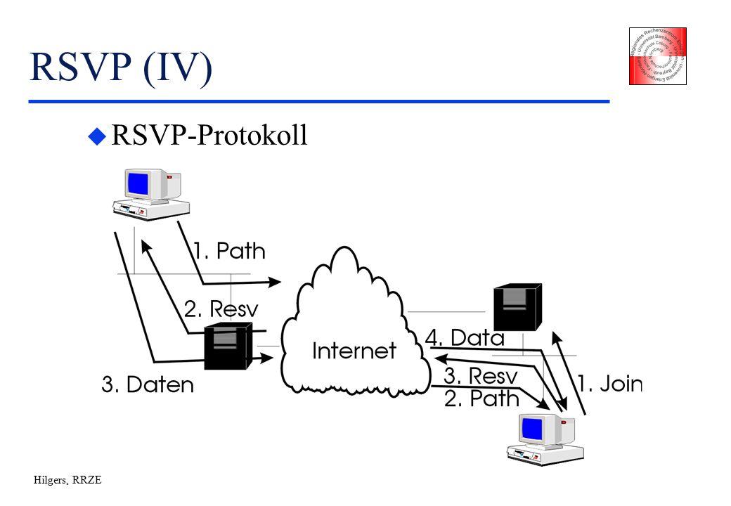 Hilgers, RRZE RSVP (IV) u RSVP-Protokoll