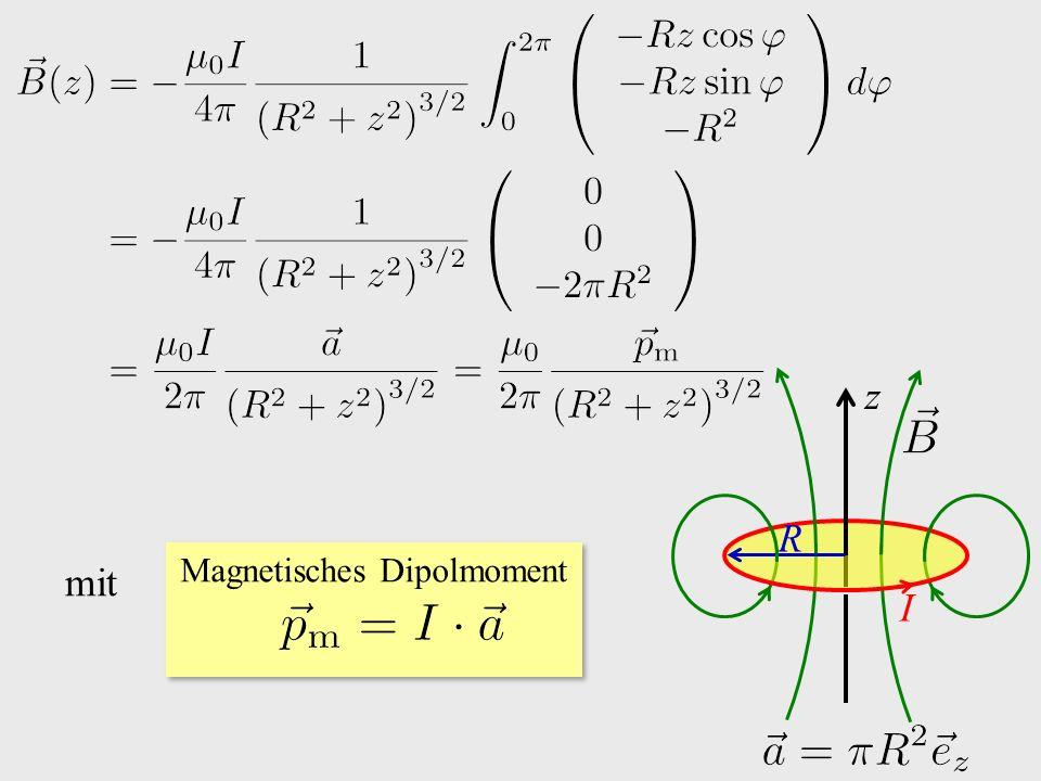 z I R mit Magnetisches Dipolmoment