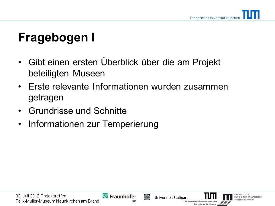 Technische Universität München Gefördert durch Universität Stuttgart 02.