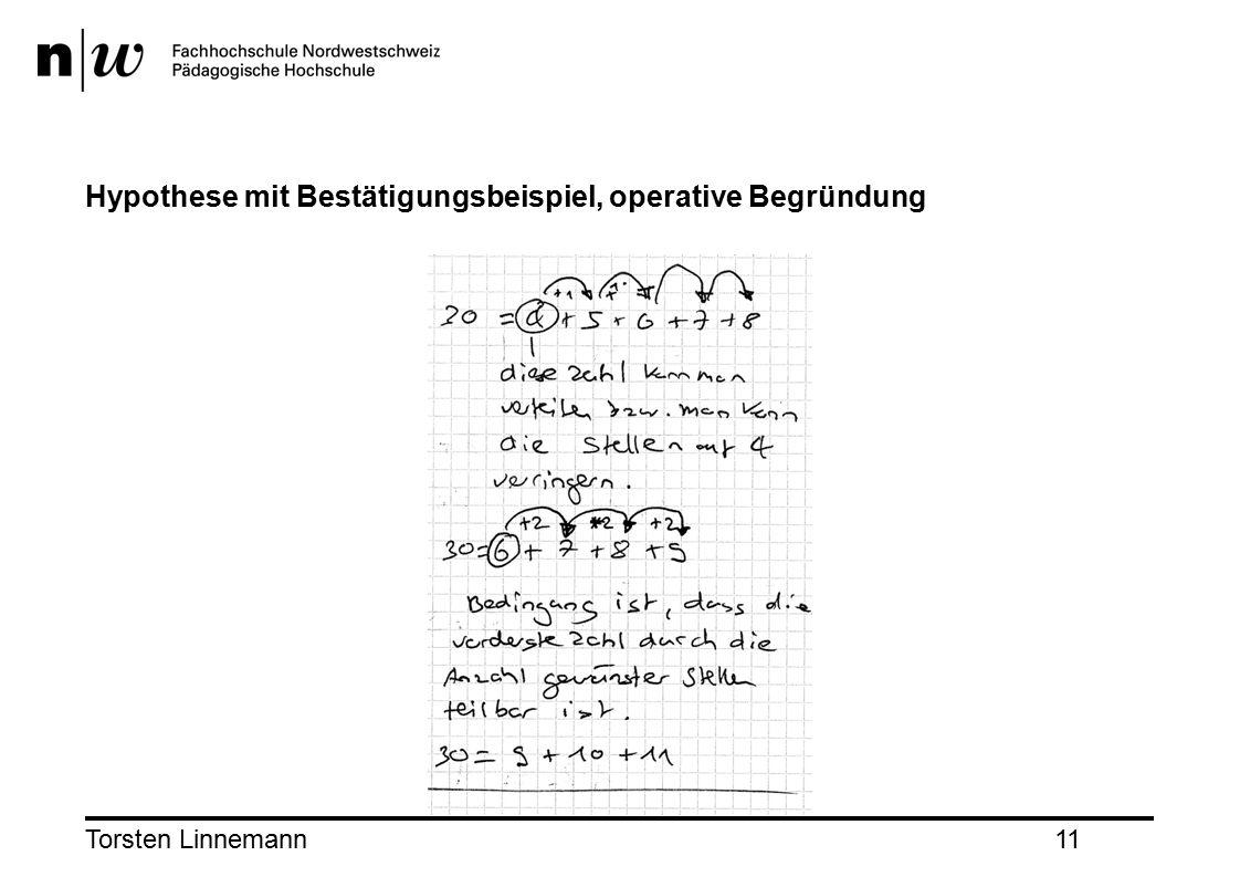 Torsten Linnemann11 Hypothese mit Bestätigungsbeispiel, operative Begründung