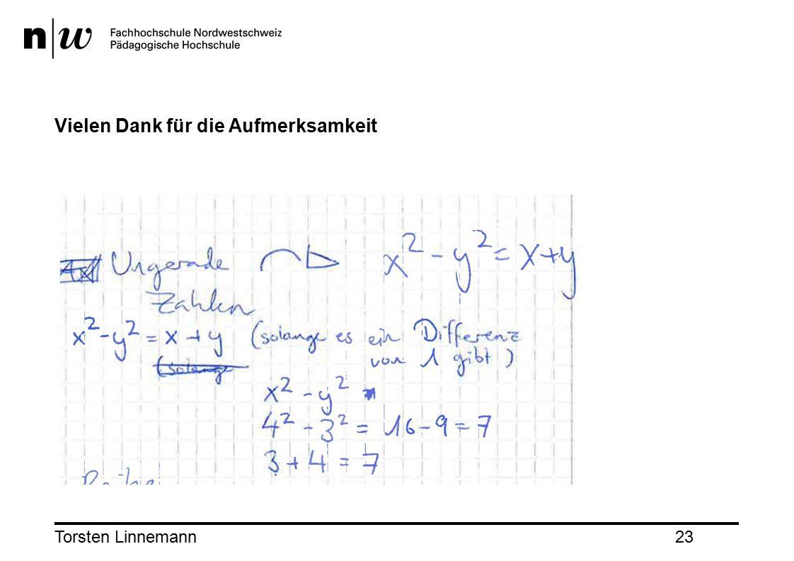 Torsten Linnemann23 Vielen Dank für die Aufmerksamkeit