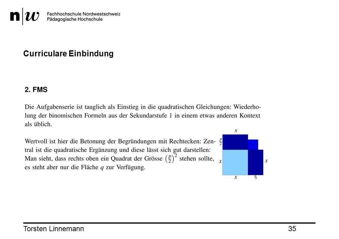 Torsten Linnemann35 Curriculare Einbindung
