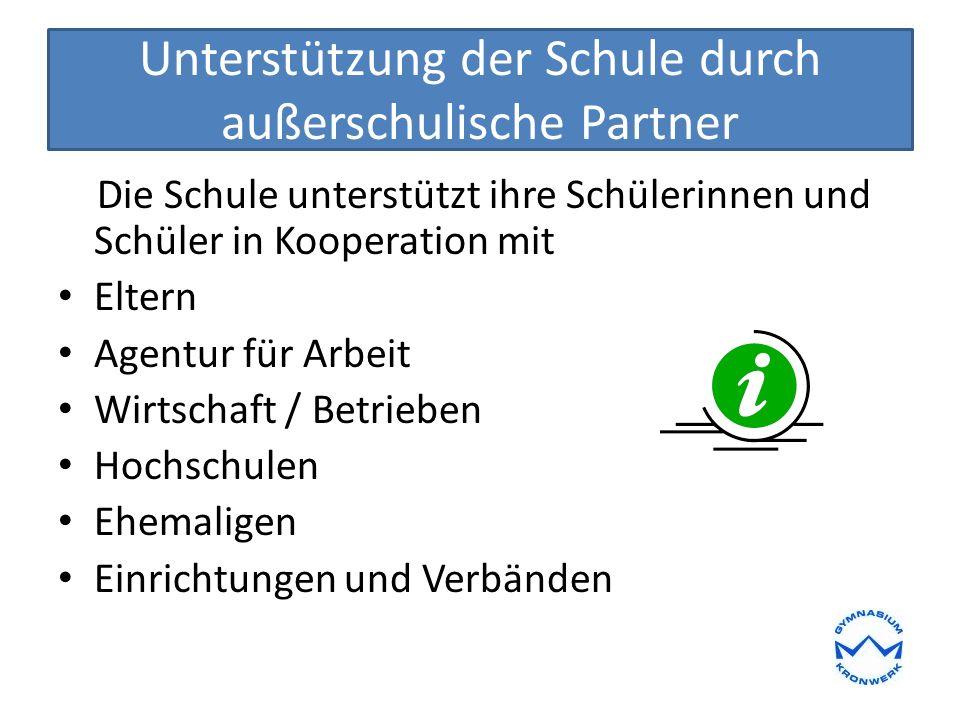 Schulische Phasen und Projekte zur Berufsorientierung Besuch der BerufsInformationsBörse (BIB) RD 08.10.15 von 08.00-13.00 Uhr Betriebspraktikum im 9.