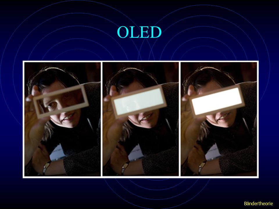 OLED Bändertheorie
