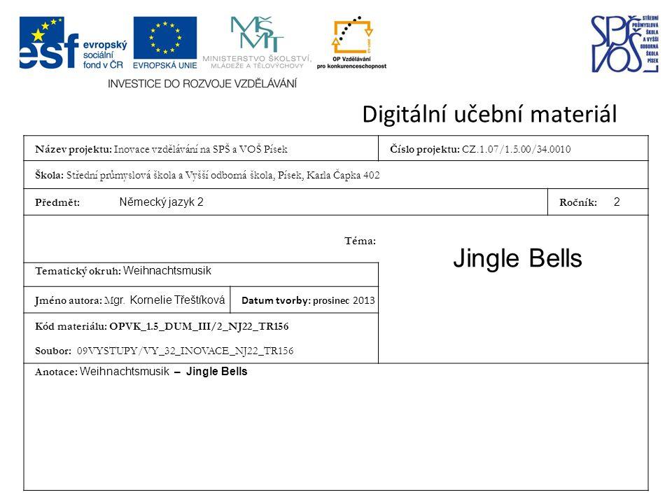 Jingle Bells (www.youtube.com) Ein kleiner weißer ….1….