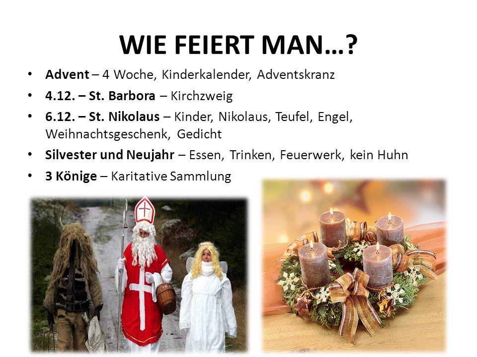WIE FEIERT MAN…. Advent – 4 Woche, Kinderkalender, Adventskranz 4.12.