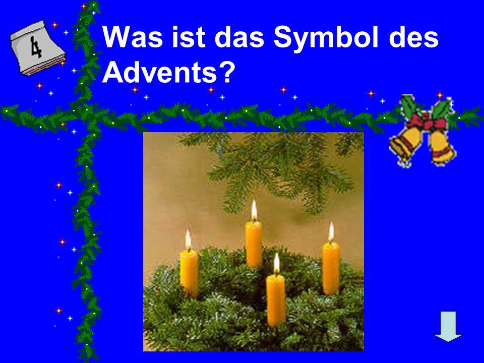 Was ist das Symbol des Advents?
