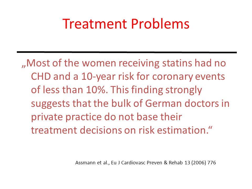 Die Statintherapie in der Primärprophylaxe zeigt hinsichtlich der Reduktion von Tod, Myokardinfarkt und Schlaganfall einen mäßigen Erfolg (< 1%/Jahr).