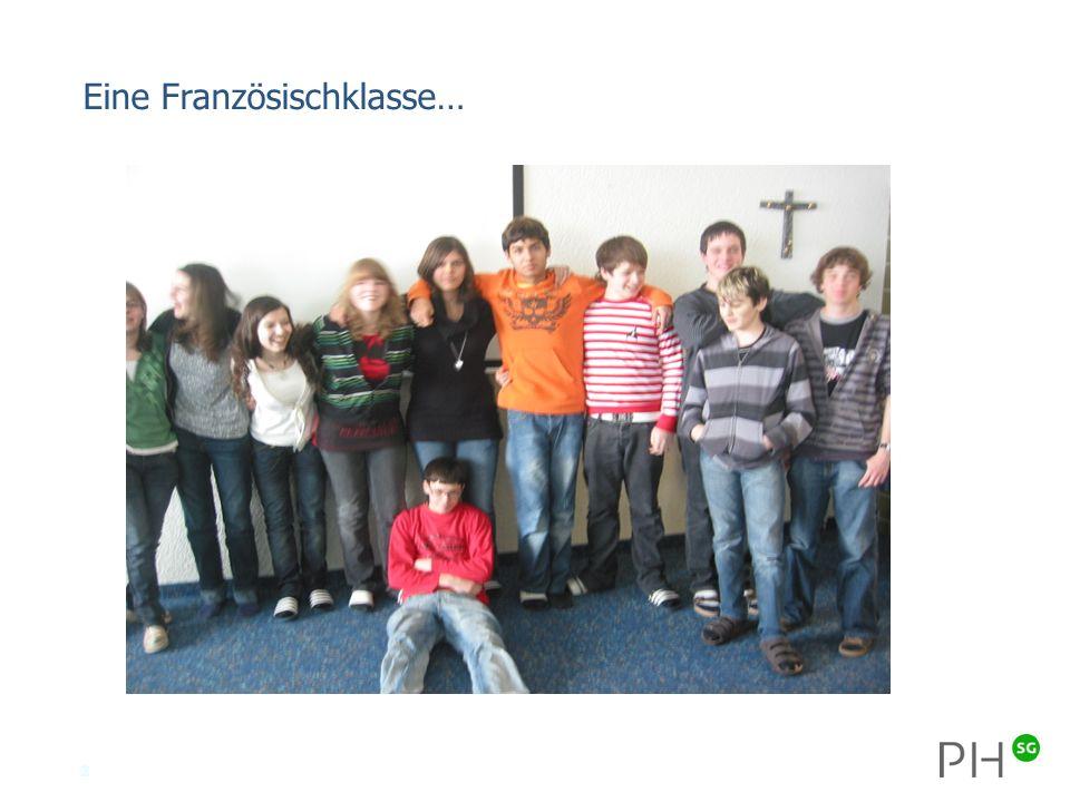 2 Eine Französischklasse…
