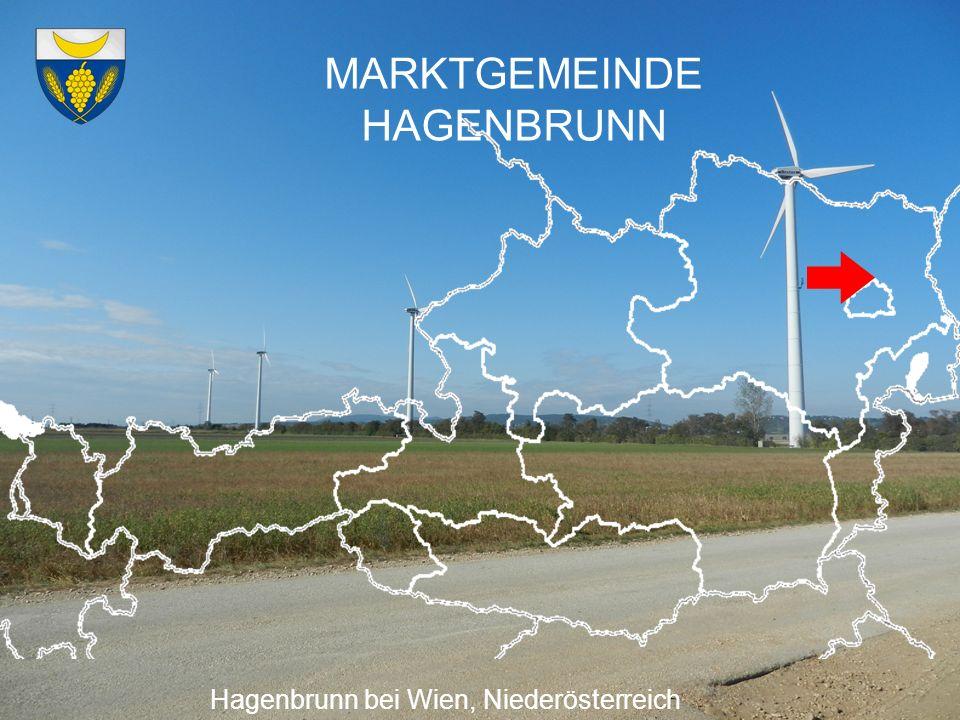 MARKTGEMEINDE HAGENBRUNN Hagenbrunn bei Wien, Niederösterreich Die Marktgemeinde Hagenbrunn ist optimistisch, das gesteckte Ziel, bis 2017 energieautark zu sein mit gemeinsamer Anstrengung erreichen zu können.