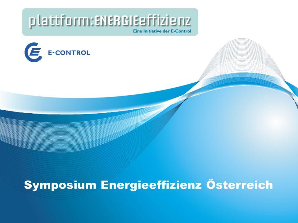 Energieeffizienz Speakers Corner | Best Practice: Energieeffizienz in großen Gebäuden Symposium Energieeffizienz Österreich