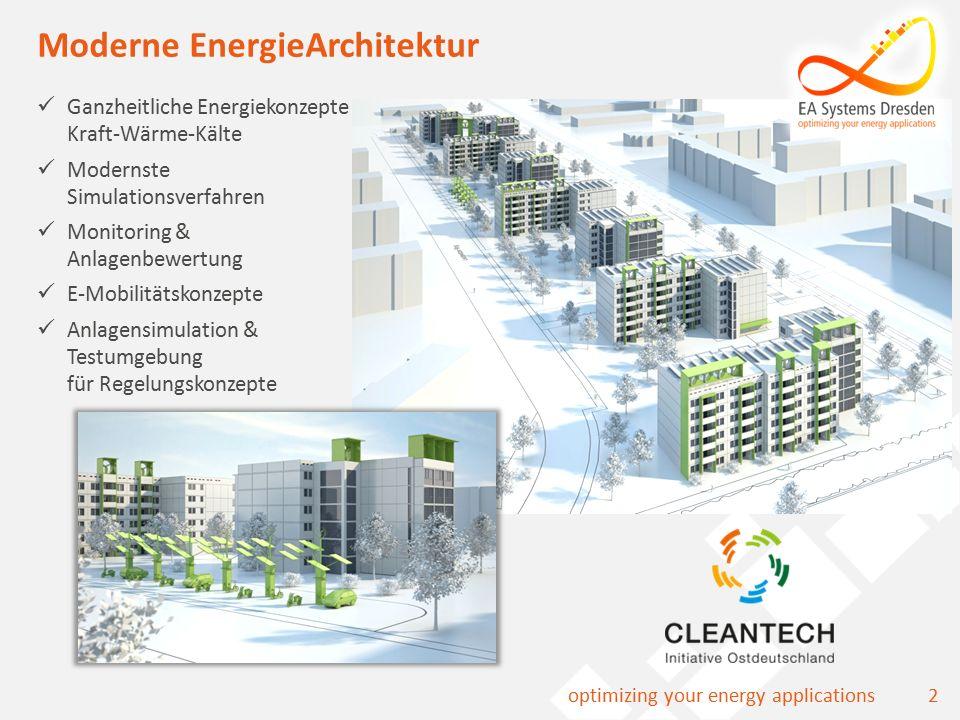 13optimizing your energy applications Testmodel für Regelung Wärme-Kälte-Strom-Eisspeicher Schul-Sport-Komplex Lohr a.M.